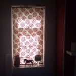 Dining room roller blind by Blindology Blinds plymouth