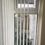Example of wand operated vertical blinds by Blindology Blinds Plymouth