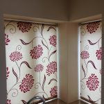 Kitchen Roller blinds patterned by Blindology Blinds plymouth
