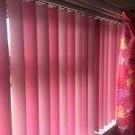 Alternating vertical window blinds by Blindology Blinds plymouth