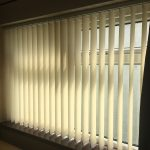 Lounge made to measure vertical blinds