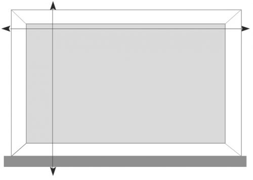 measuring guide fit self blinds